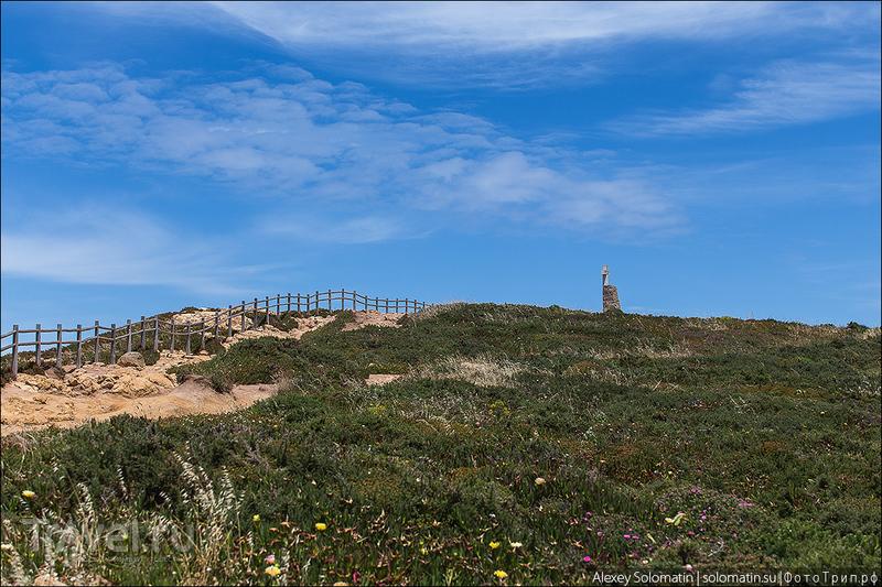 Мыс Рока на краю Европы. Cabo da Roca / Фото из Португалии