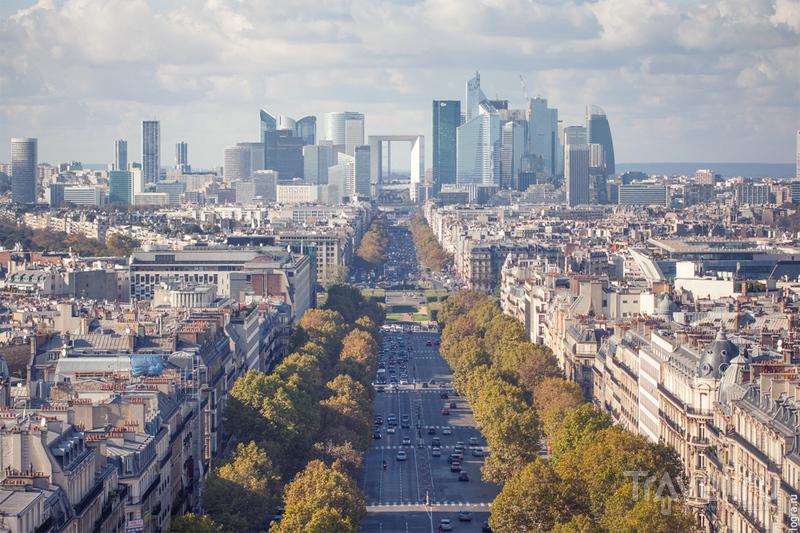 Триумфальные виды Парижа / Франция