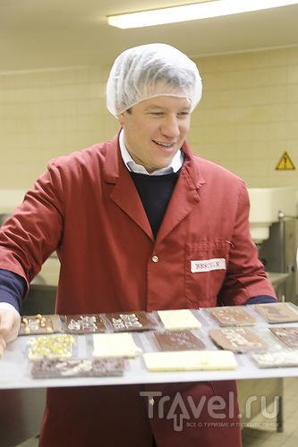 Уроки швейцарских шоколатье / Швейцария