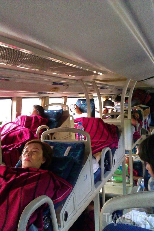 По Вьетнаму на дешевых автобусах Open Bus / Вьетнам