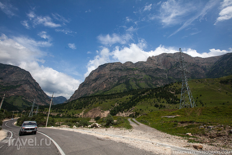 Горы Ингушетии / Фото из России
