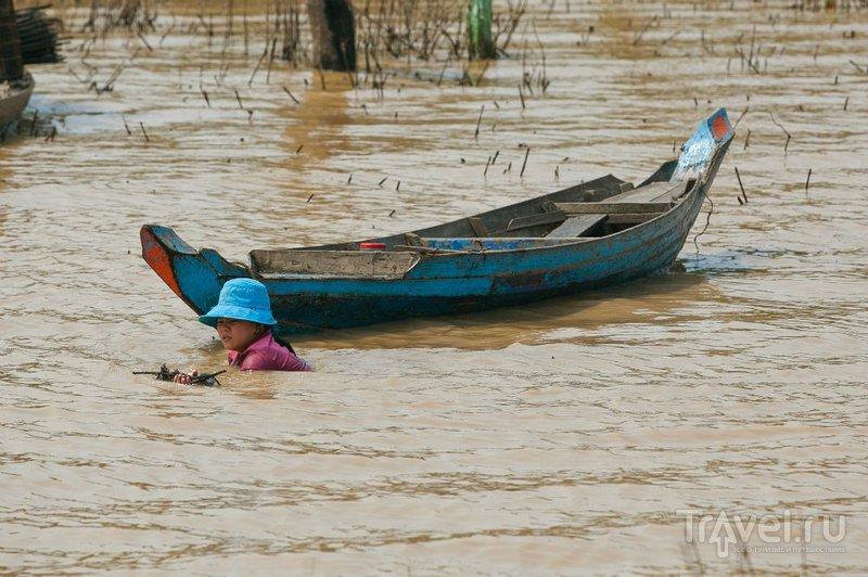 """Водное путешествие на """"ракете"""" из Пномпеня до Сиемриепап / Фото из Камбоджи"""