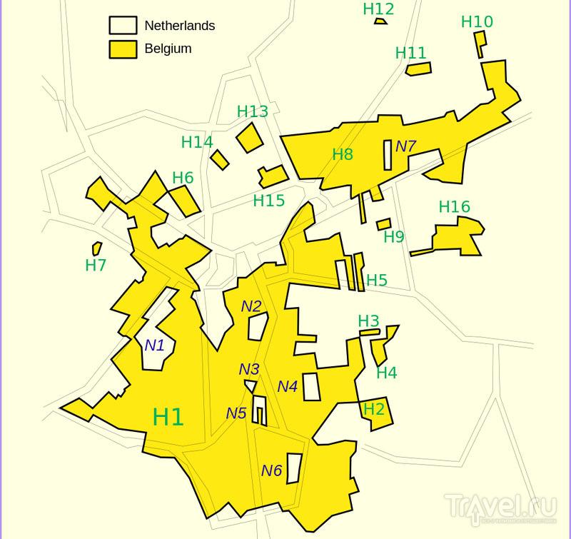 План Барле-Хертога и Барле-Нассау / Бельгия