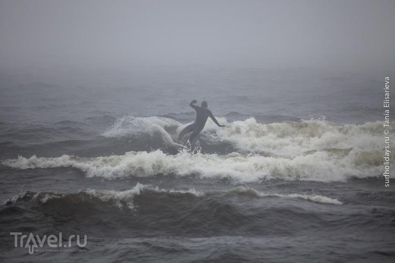 """""""Призраки Ладоги"""" - серфинг на озере / Россия"""