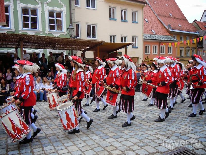Погружение в Средневековье (Tänzelfest in Kaufbeuren) / Германия