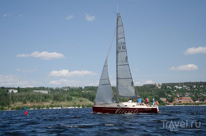 Прогулка на яхте / Фото из России