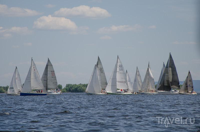 Гонки на яхтах / Фото из России