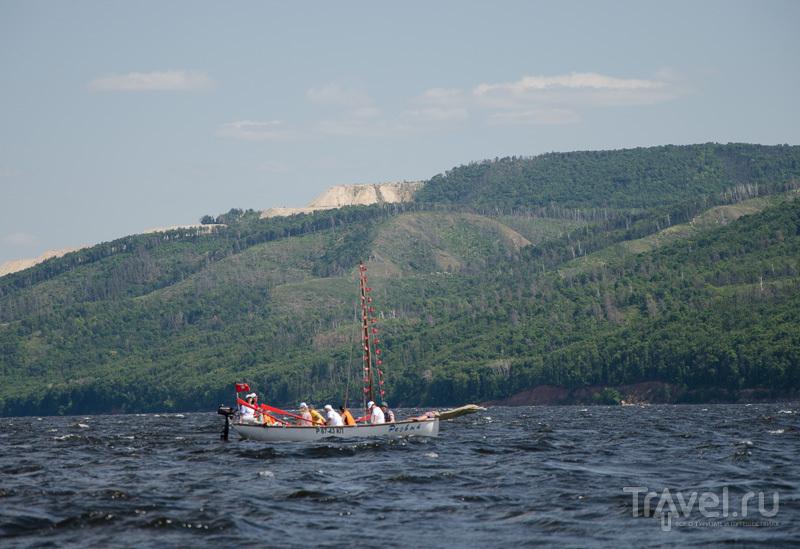 На яле, на веслах / Фото из России