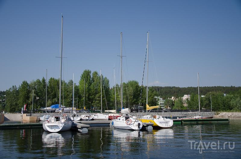 Яхты в марине Тольятти / Фото из России