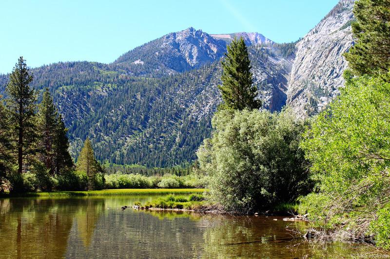 Eastern Sierra. Озерные чудеса / Фото из США