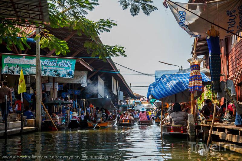 И снова Таиланд: плавучий рынок, мост через реку Квай и Тигровый Храм / Таиланд