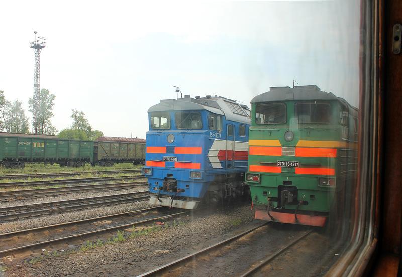 Ржев: Город в кольце Железной Дороги / Россия