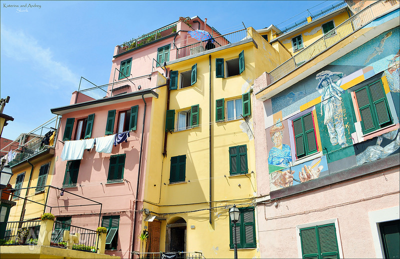 Riomaggiore и Corniglia. Cinque Terre. Лигурия / Фото из Италии