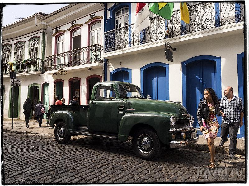 Польза от чемпионата мира. Ouro Preto / Бразилия