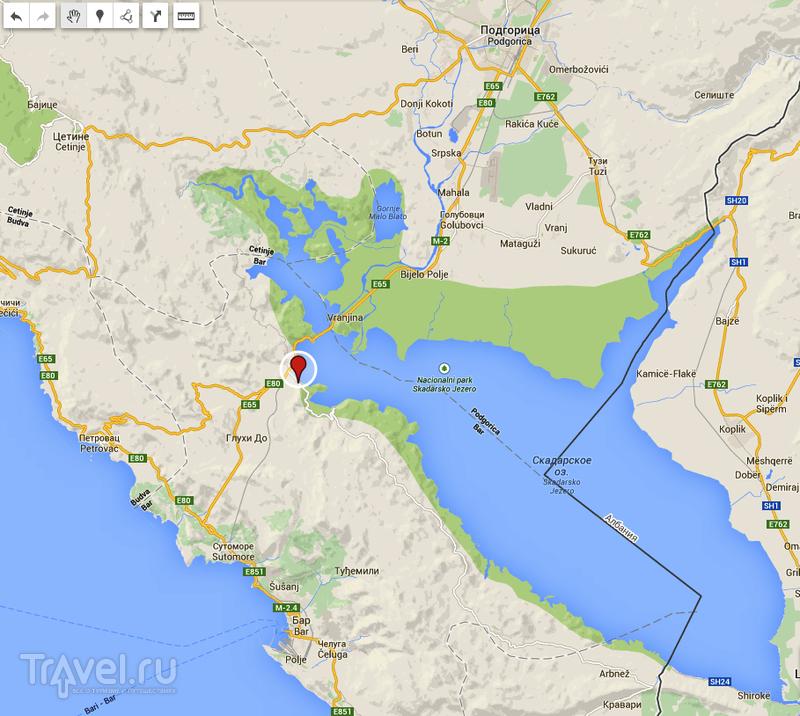 Скадарское озеро как добраться из будвы