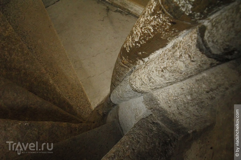 Готическая двойная винтовая лестница - Грац / Австрия