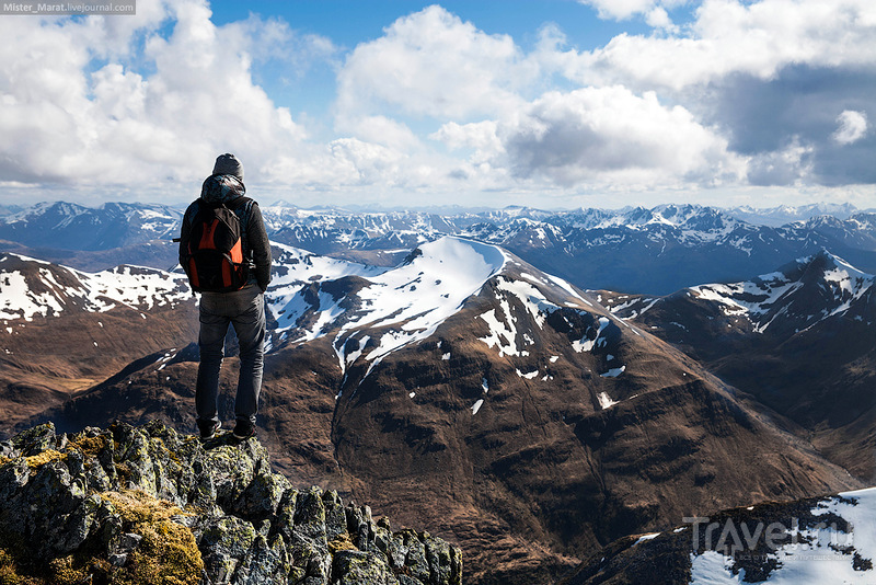 Шотландия, подъём на гору Бен-Невис / Фото из Великобритании