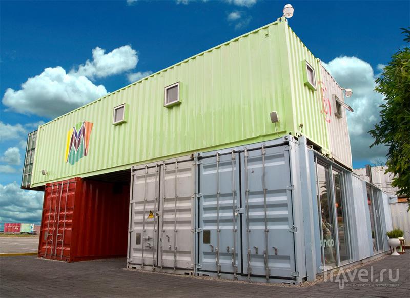 Дом из контейнеров / Мексика