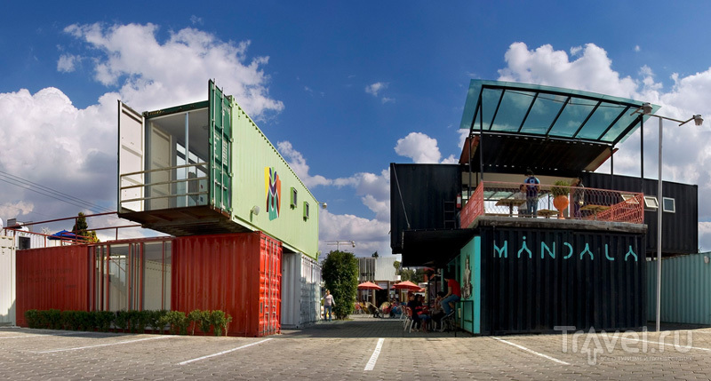 Container City - современно и красиво / Мексика