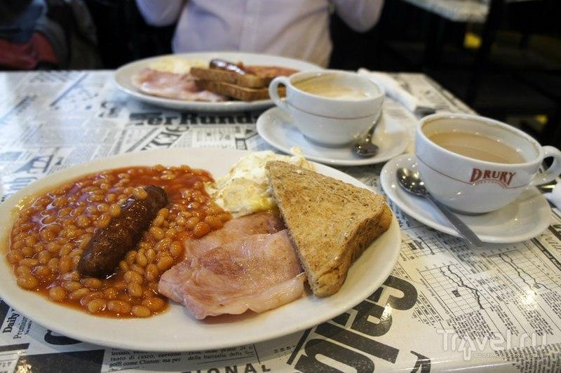 Английская еда в Лондоне / Великобритания