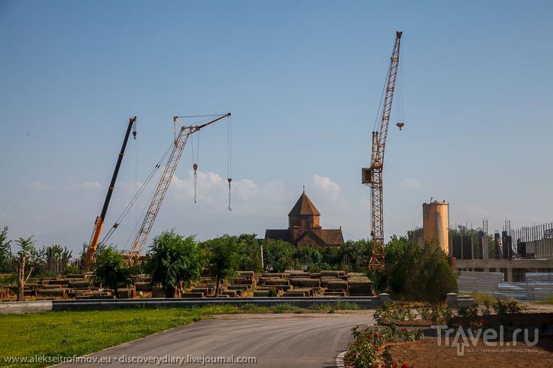 Ереван, Эчмиадзин и армянская еда / Армения