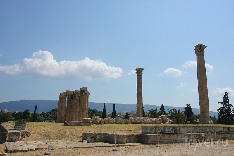 Храм Зевса, Арка Адриана, стадион Панатинаикос / Греция
