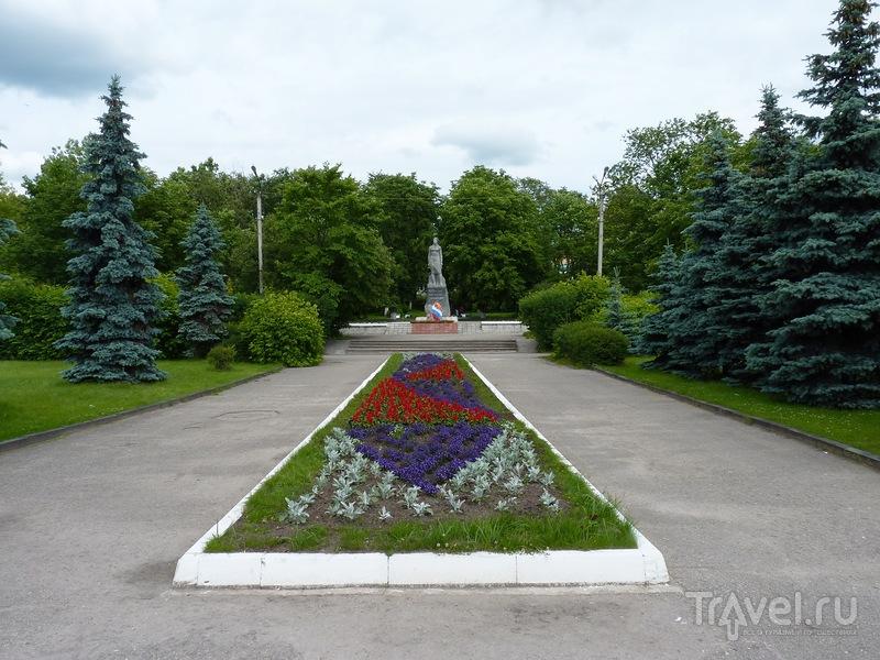 Небольшая прогулка по городу Острову (Псковская область) / Россия