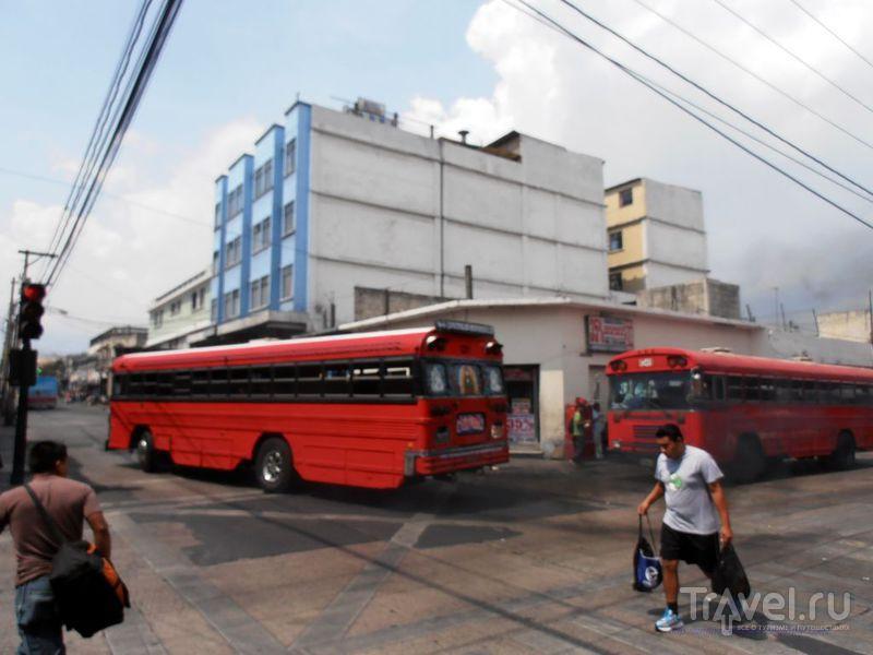 Мексика, Гватемала, Гондурас - транспорт / Мексика