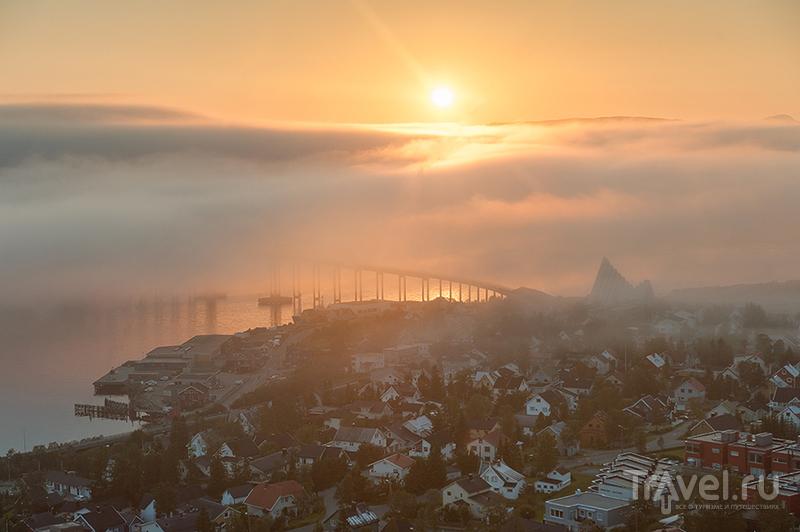 Fjellheisen. Дорога к вершинам города Солнца / Фото из Норвегии