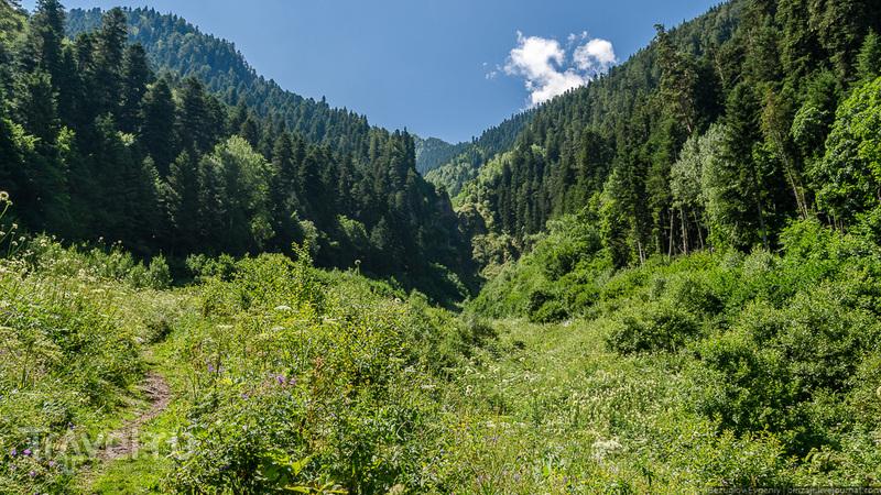 Водопад Казачий / Фото из России