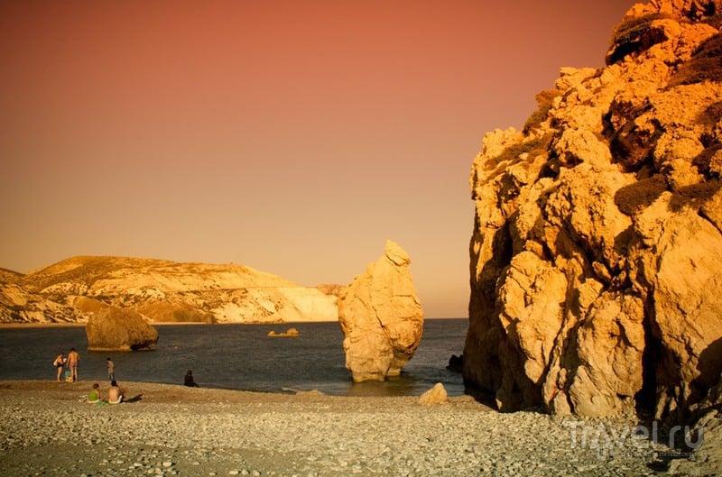 Кипр. Троодос и закат на скалах Афродиты / Кипр