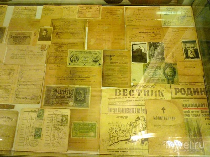 Военно-исторический музей Псковской области в городе Острове / Россия