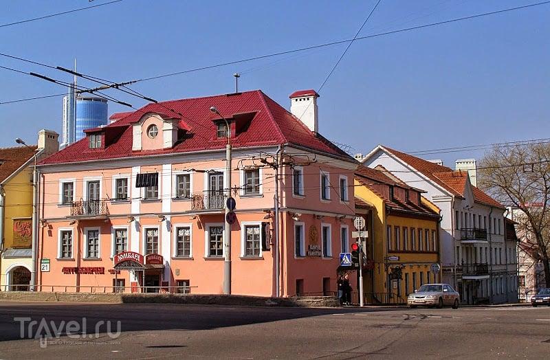 Минск. Троицкое предместье / Белоруссия