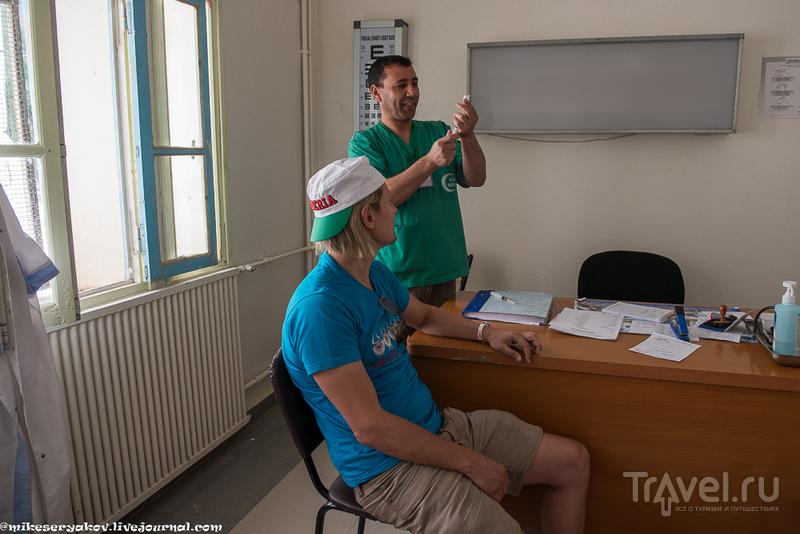Тимгад и алжирский госпиталь / Фото из Алжира