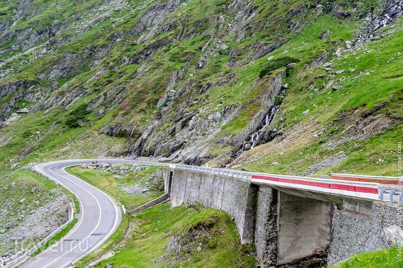 Трансфагараш - самая красивая дорога Европы / Фото из Румынии