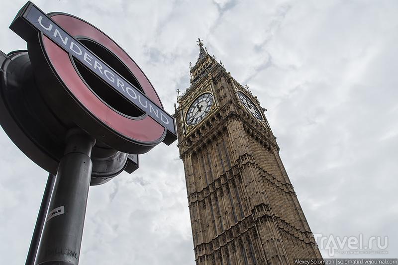 Метро в Лондоне / Великобритания