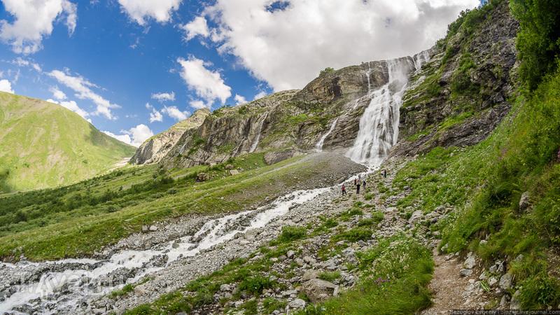 Софийские водопады / Фото из России