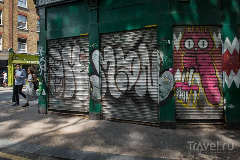 Говорящие стены Шордича / Великобритания