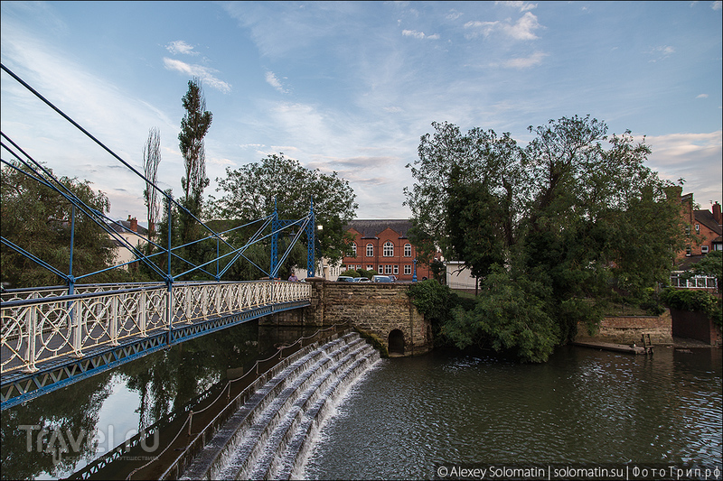 Royal Leamington Spa, курортный городок в Великобритании / Великобритания