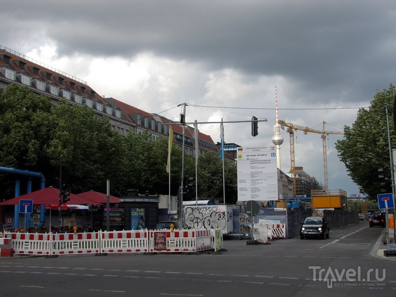Берлин. Отмена рейса AirBerlin / Германия