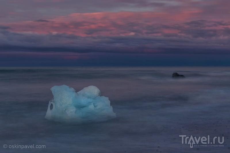 На моих глазах спорили огонь да лед... / Исландия