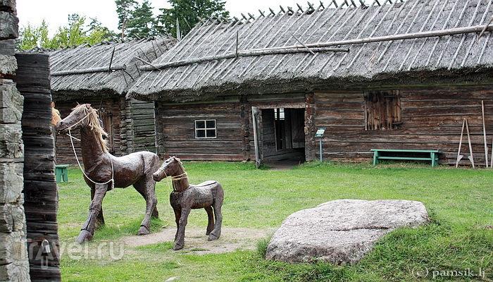 Аланды. Замок Кастельхолм и Фермерский (Этнографический) музей под открытым небом / Финляндия