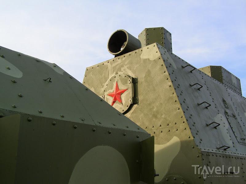 Тульская обл. Бронепоезд в Черни / Россия