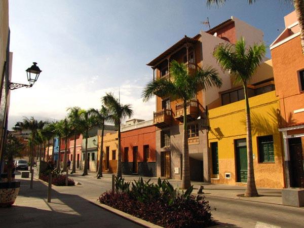 Типичные дома в Пуэрто-де-ла-Крус