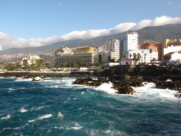 Вид на набережную Пуэрто-де-ла-Крус