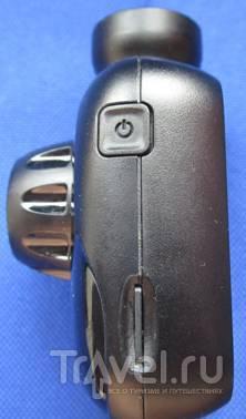 Кнопка включения и слот для карты microSD