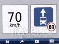 Предупреждение о превышении скорости