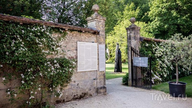Сад ирисов в замке Вюйерена