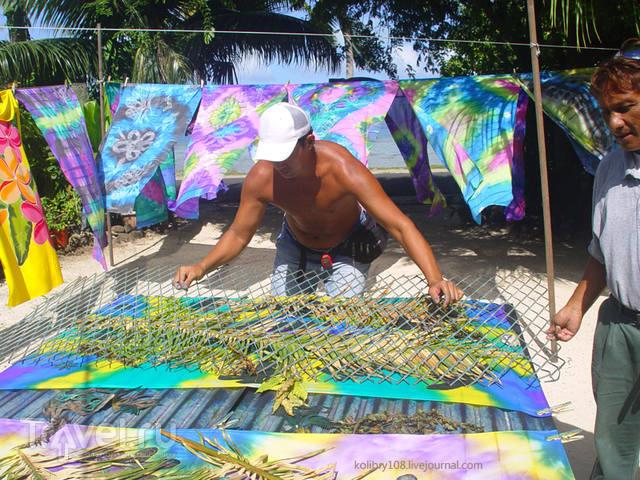 """""""Сафари 4х4"""" плюс МК по окраске парео (остров Бора-Бора) / Французская Полинезия"""