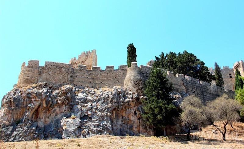 Античное наследие Родоса: Акрополь Линдоса / Греция